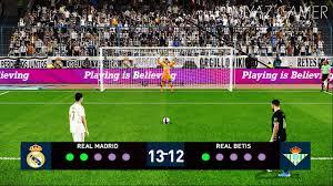 PES 2020 | REAL MADRID vs REAL BETIS | Penalty Shootout