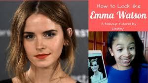 destiny s vlogs how to look like emma watson makeup tutorial you
