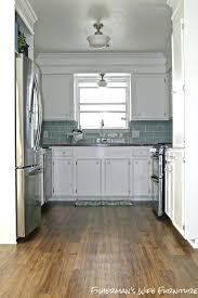 vinyl plank flooring kitchen wh installation