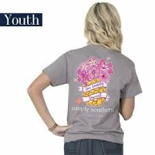 Simply Southern Sherpa Size Chart Details About Youth Sweet Pineapple Simply Southern Tee Shirt