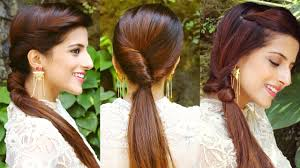 Simple Hairstyles For College 3 Cute Easy Ponytail Hairstyles For School College Work Quick