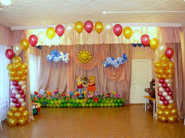 Anniversary Decoration Ideas At Home  Party Themes InspirationSimple Balloon Decoration Ideas At Home