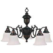 Design Classics Lighting Design Classics Lighting Bronze Chandelier With Five Lights