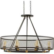 House Of Lights Mayfield Home Decorators Mayfield Park 6 Light Forged Bronze Oval