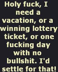 Holy Fuck I Need A Vacation Funny Quotes Stunning Need A Vacation Quotes