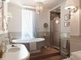 traditional bathroom lighting ideas white free standin. Luxurious Small Bathroom Style Elegant Washing Stand Mesmerizing Crystal Lamp Gorgeous Soft Brown Wall Color Decoration Traditional Lighting Ideas White Free Standin O