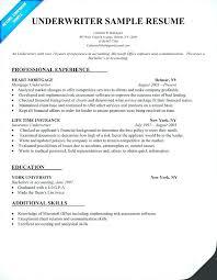 Underwriting Assistant Resumes Underwriter Assistant Jobs Underwriters Resume Insurance