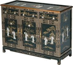 black lacquered furniture. chinese black lacquer buffet with mother of pearl inlay lacquered furniture
