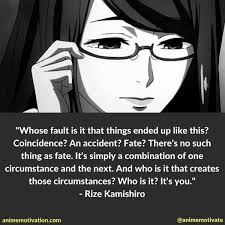 Tokyo Ghoul Quotes Gorgeous 48 Dark Anime Quotes From Tokyo Ghoul That Go Deep