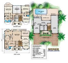 luxury coastal house plans elegant mediterranean house plan 3 story luxury beach home floor plan