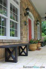how to build rustic furniture. Fine Furniture Rustic Porch Bench  40 Home Decor Ideas You Can Build Yourself On How To Furniture