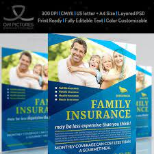Some producers will go anywhere and work with anyone. Insurance Flyer Graphics Designs Templates From Graphicriver