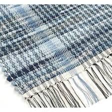 blue jean rug tough woven denim rug