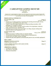 Elderly Caregiver Resumes Elderly Caregiver Resume Objective Nanny Skills Sample Images
