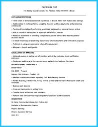 73 Bank Teller Resume Examples Esthetician Resume Cover