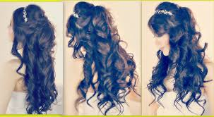 Hairstyles For A Quinceanera Romantic Hairstyles Half Up Half Down Updo For Prom Wedding