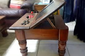 arcade machine angled screen folding screen arcade table