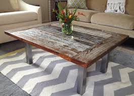 distressed coffee table pottery barn end tables raw wood reclaimed console wayfair narrow drum side west elm decorati furniture glass round oak dining