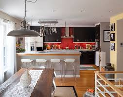 Mica Interior Design Mesmerizing Red Black And White Interiors Living Rooms Kitchens Bedrooms