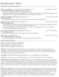 Federal Government Resume Template Gfyork Com