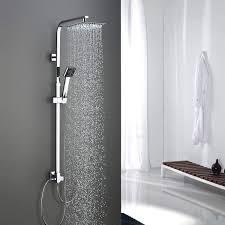 Bonade Edelstahl Duschset Ohne Armatur Duschsystem Duschkopf