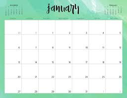 Desk Calendar Printable Free 2019 Printable Calendars 46 Designs To Choose From