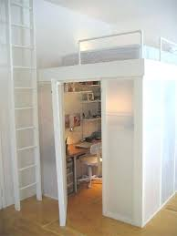 bunk bed office underneath. Loft Bed With Desk And Closet Impressive Bunk Underneath Best Ideas About Office K