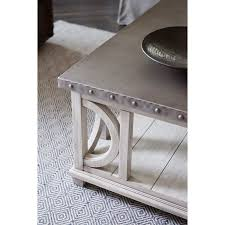metal top coffee table. Oyster Bay Collection By Lexington Home Brands Litchfield Cocktail Table   Hayneedle Metal Top Coffee I