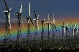 national news from blue collar to green collar jobs in renewable a rainbow was visible jan 28 next to an array of wind turbines in palm springs calif the wind energy industry currently employs about 45 000 people in