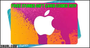 free itunes gift card codes 2019