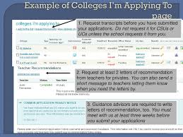 ucs letter of recommendation naviance the college application process ppt download