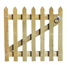 garden gate palisade pointed top