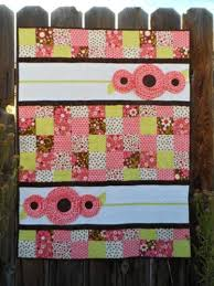 Cute Quilt Patterns | Craftsy & Pocket Full of Posies Baby Quilt Pattern Adamdwight.com