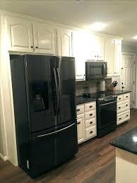 white kitchen black appliances pictures chenduome