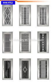 Steel Grill Design Price One Side Door Grill Design Another Side Half Grill Half Solid Pattern Steel Stainless Entrance Door Buy Iron Main Entrance Doors Grill Design Steel