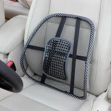 image of chair back support for car seat