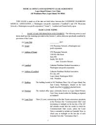 Office Rental Agreement Template 5 Medical Office Lease Agreement Examples Templates