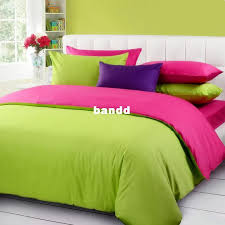 solid color comforter. Wonderful Solid Top Grade Solid Color 5pcs Comforter Set King Size Fruit Green And Rose  Bedding Duvet Cover Cotton CS018 Free Shipping Intended Color Comforter T