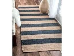 woven runner rug bohemian nelson hand woven wool jute runner rug from blue jute rug chenille