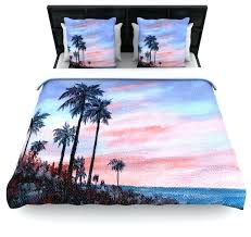 palm tree duvet cover brown sunset palm tree cotton duvet cover queen palm tree duvet cover