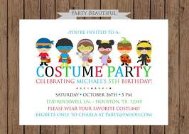costume party invites birthday costume party invitations oxsvitation com