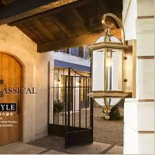 exterior wall lamps led waterproof light garden outdoor lighting outdoor wall sconce balcony lights copper outdoor