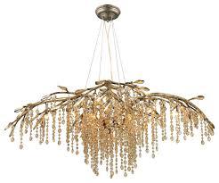 golden lighting autumn twilight mystic gold 12 light chandelier