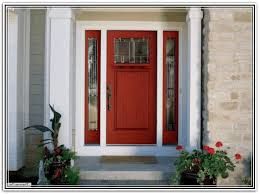 front door with sidelightsPainted Front Door With Sidelights