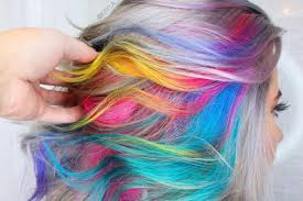 Hairstyle Color 28 incredible rainbow hair color ideas for 2017 2705 by stevesalt.us