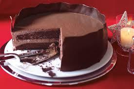 Chocolate Panna Cotta Layer Cake Recipe Epicuriouscom