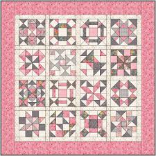 Patchwork Block Designs Puzzle Quilt Block Of The Month Meadowside Designs