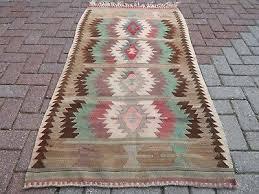 antalya turkish kilim rug tribal rugs large kelim 74 x111 4 area