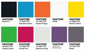 ISPO Color Palette Fall/Winter 2017/2018 \u2039 Fashion Trendsetter