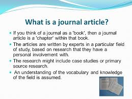 Journal Article Journals Ppt Video Online Download